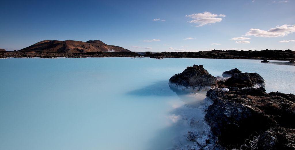 En passant par le fameux Blue Lagoon !