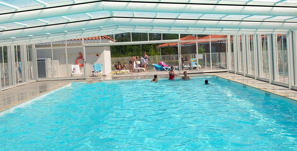 Profitez de piscines chauffées