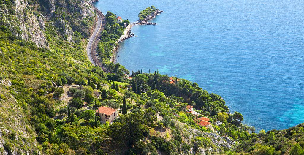 Le littoral de la Côte d'Azur a tellement à vous offrir !