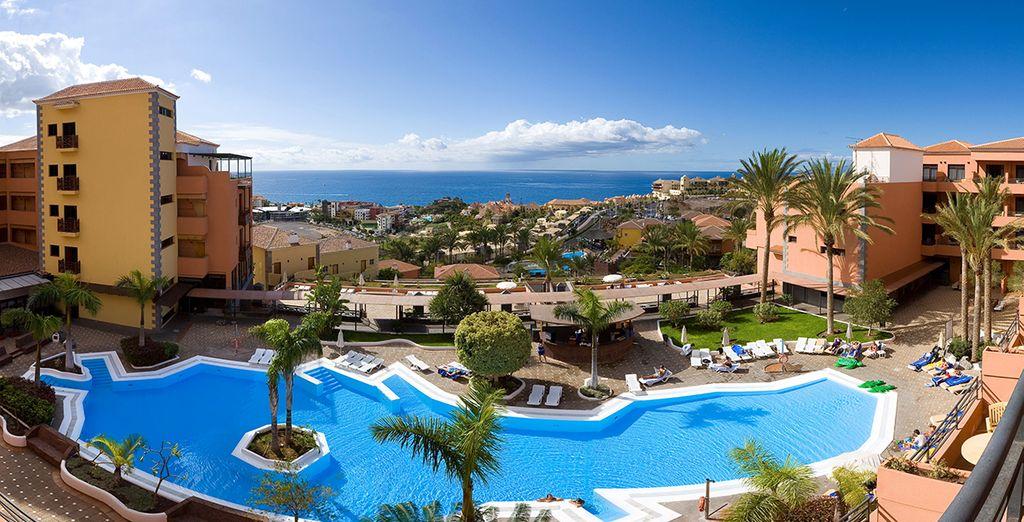 Un superbe complexe sous le soleil des Canaries... - Hôtel Melia Jardines Del Teide 4* Tenerife