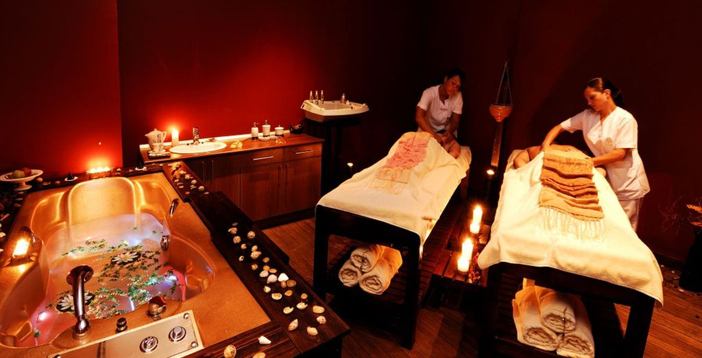 Spa et service de massages...