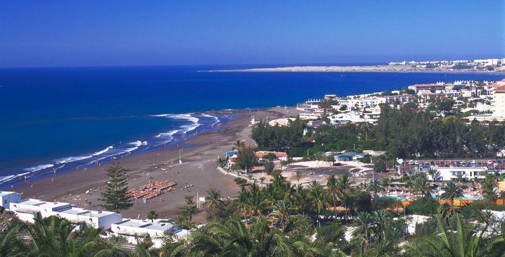 ...Sous le soleil de la Playa del Inglès !