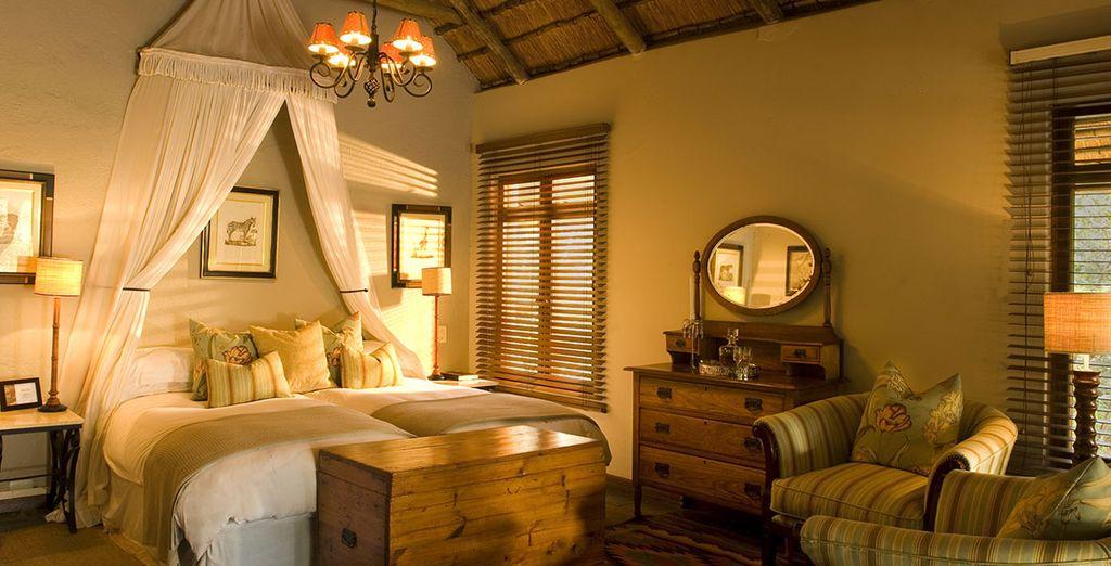 Appréciez le charme intemporel du Ngala Safari Lodge