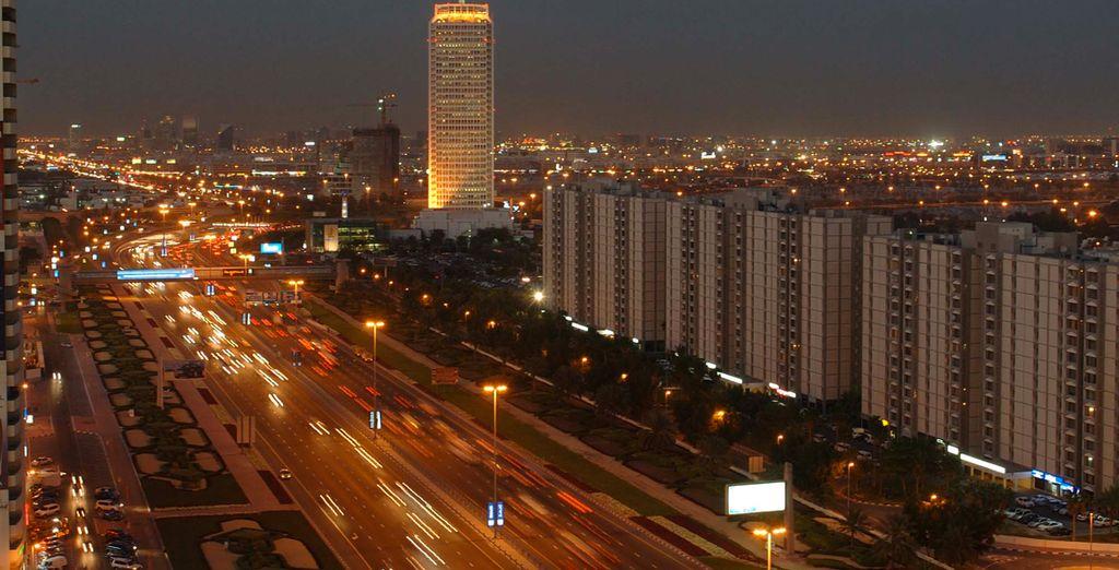 Vous serez tout près du célèbre Dubaï World Trade Center