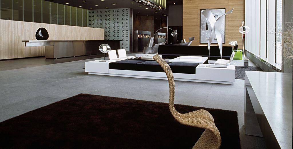 Et profitez de votre séjour dans cet hôtel design...