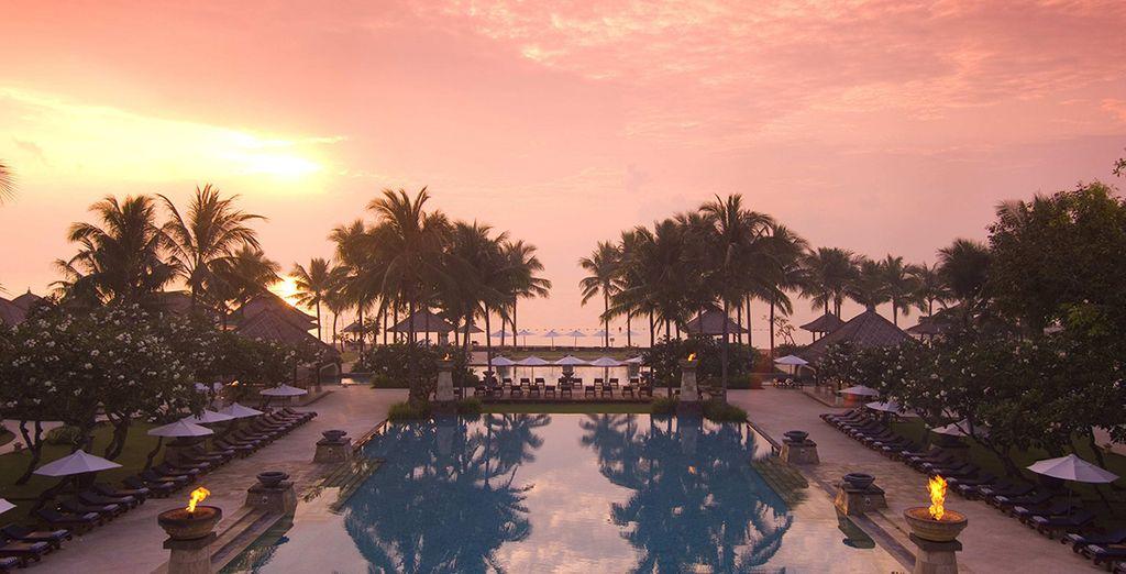 La deuxième étape de votre séjour se passe au Conrad Bali !