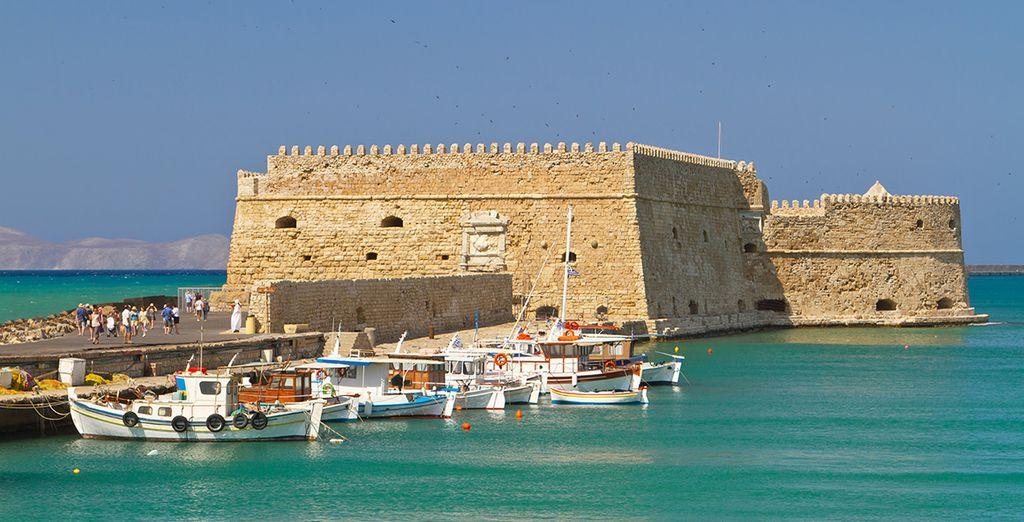 Cap sur la capitale de l'ile : Héraklion