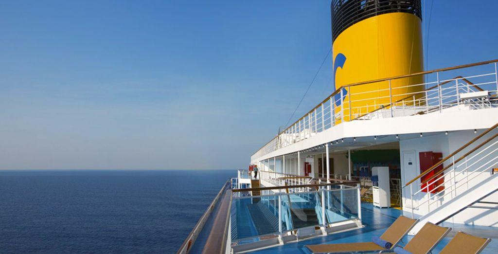 Depuis votre bateau, vous serez fasciné...