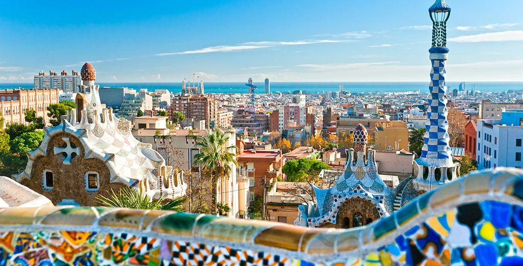 Barcelone, son air de vacances perpétuel...