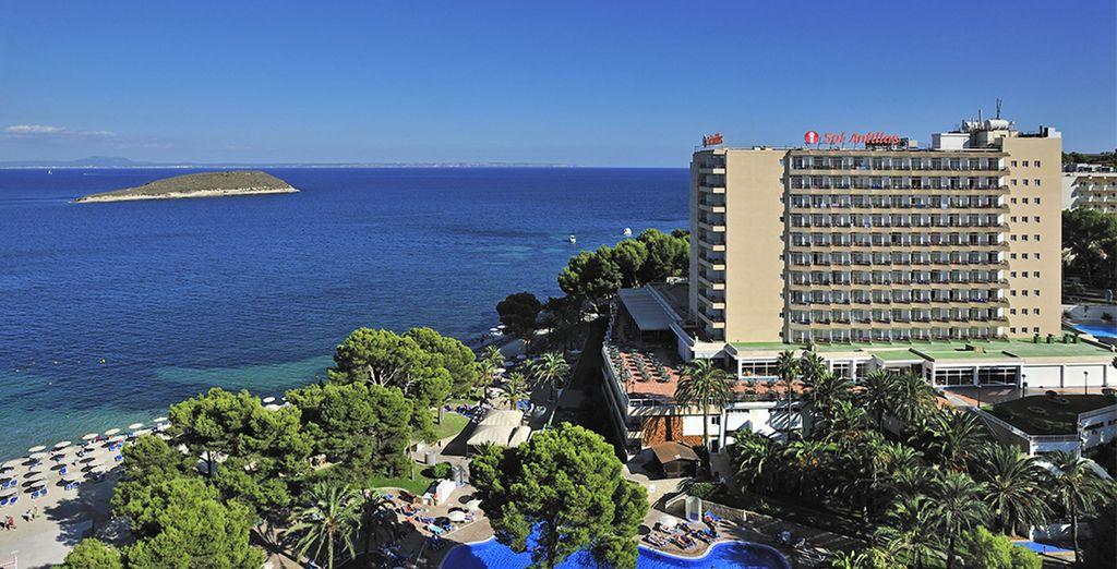 Et posez vos valises à l'hôtel Sol Antillas Barbados 4*