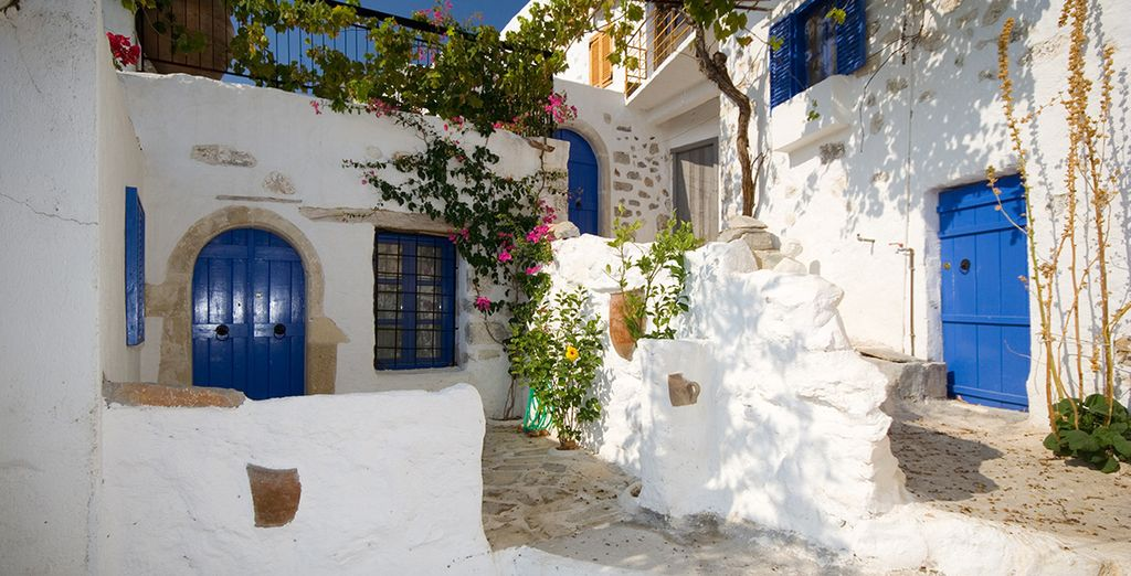 Si vous arrivez à sortir de votre luxueux hôtel, vous ne résisterez pas longtemps au charme des villages crétois...