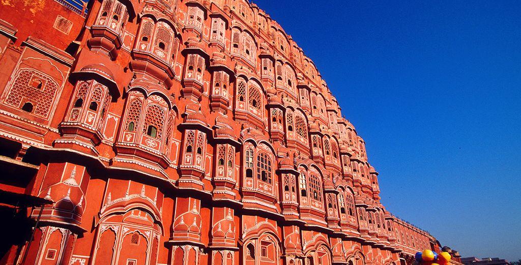 Puis vous atteindrez Jaipur...