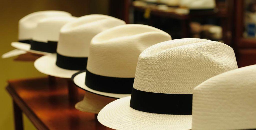 Et pour l'illustre chapeau traditionnel : le panama !
