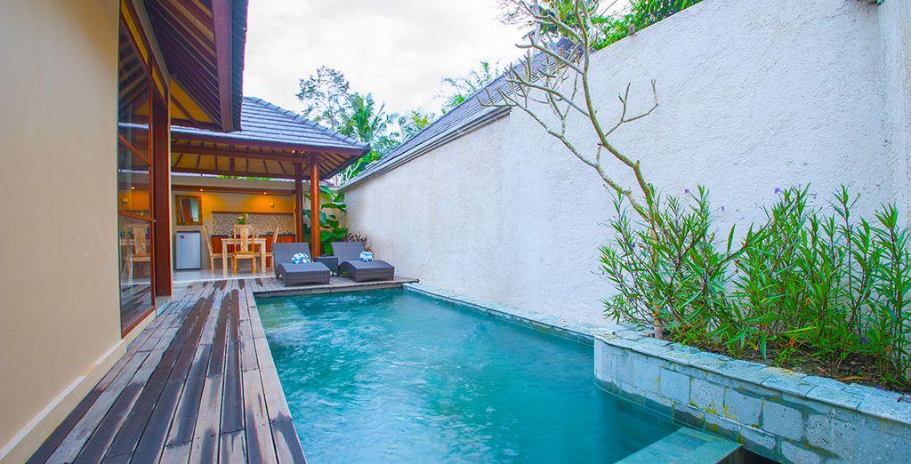 Tout commence ici... Au D'Bukalan Kampung Villa