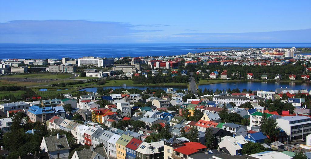 Votre pied-à-terre sera à Reykjavik - Activités Islandaises Grandeur Nature en 5 jours et 4 nuits Reykjavik