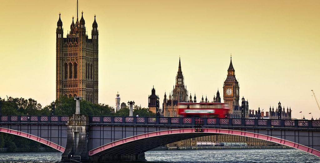 Le Palais de Westminster vous ouvre la voie