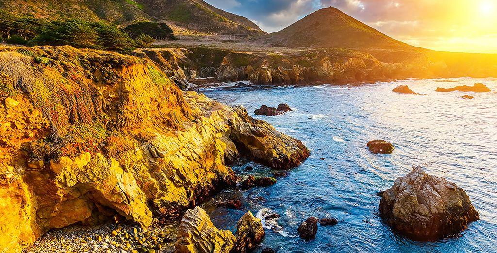Avant de filer près de la mer, comme à Monterey