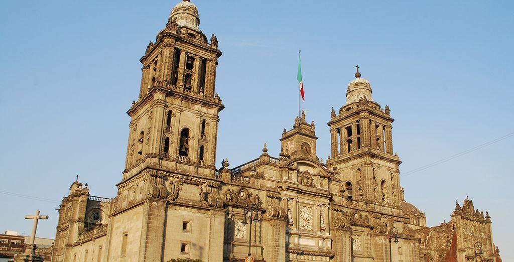 Débutez votre séjour à Mexico, et découvrez les merveilles de la capitale
