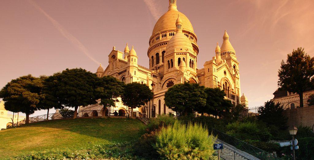 A proximité de la basilique du Sacré-Coeur de Montmartre