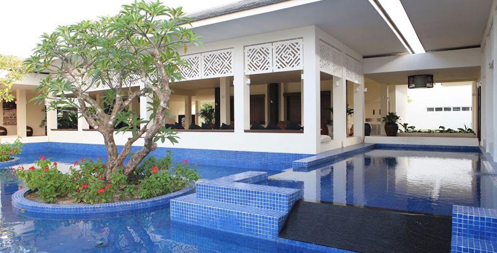 Vous vous installerez au Princess d'Annam Resort