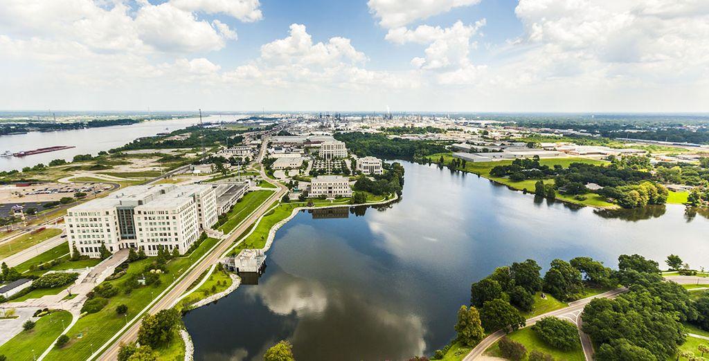 Baton Rouge, Lafayette, Acadian Village... Vous allez découvrir l'essence même de la Louisiane en toute liberté