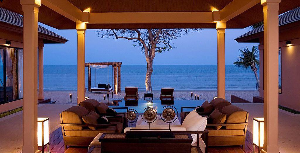 Avant de rejoindre le luxueux Asara Villas & Suites