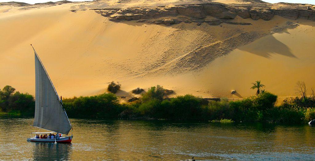 Poursuivez votre aventure en optant pour notre offre en combiné, avec croisière sur le Nil...