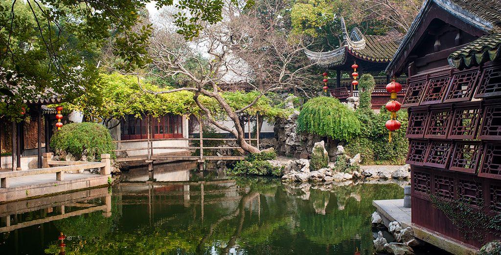 Partez pour Suzhou et ses charmants jardins