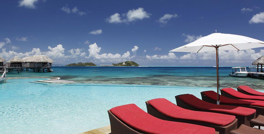 Enfin, le Sofitel Bora Bora Marara Beach Resort 4*...