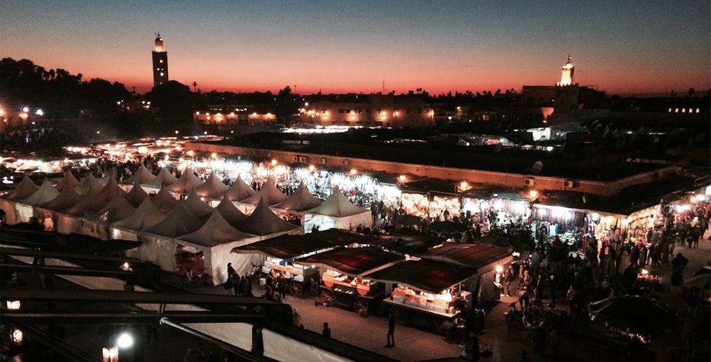 Puis, au départ de Marrakech, partez pour une escapade luxe en pays Berbère