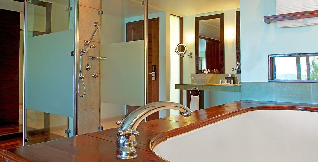 Avec sa sublime salle de bains