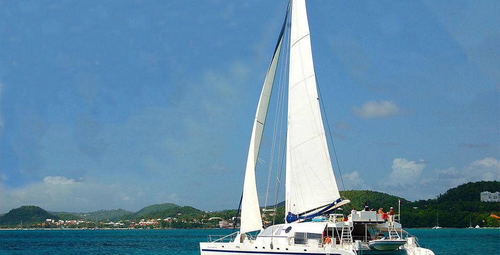 Embarquez à bord de votre Catamaran, à la conquête de paysages extraordinaires