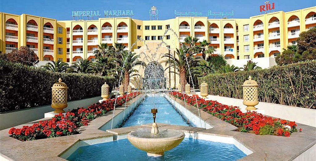 Ces vacances au Riu Imperial Marhaba vont vous faire un bien fou !