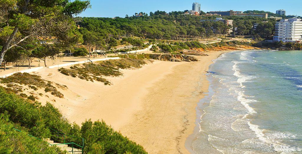 Avant de rejoindre les plus belles plages de la Costa Dorada !
