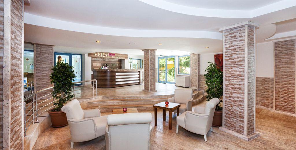Poussez les portes d'un hôtel accueillant et chaleureux