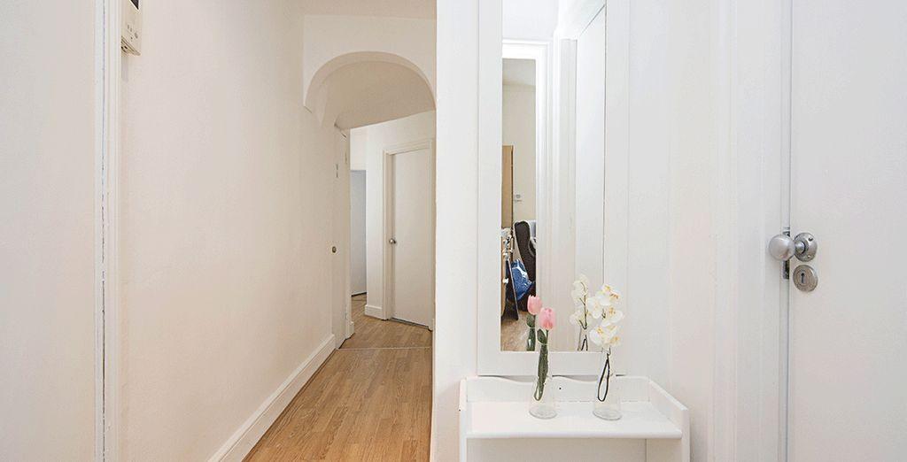 De longs couloirs...