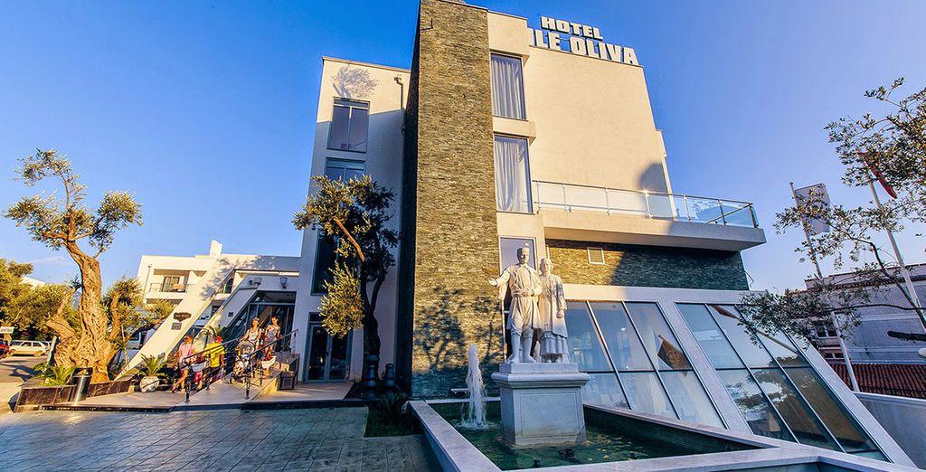 L'hôtel Vile Oliva vous accueille