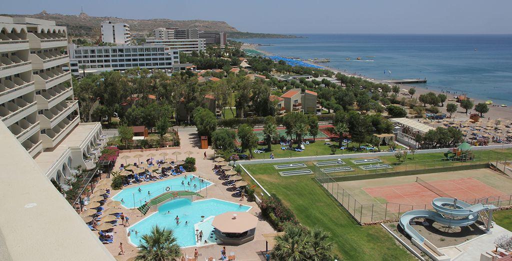 L'hôtel Olympos vous accueille pour de magnifiques moments !