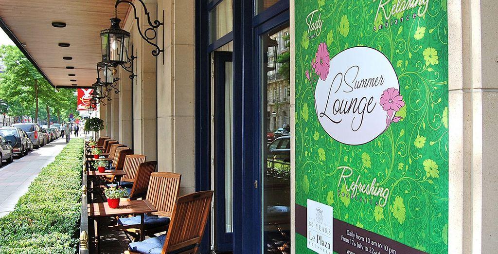 Ou un café en terrasse...