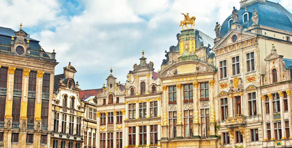 Partez à la découverte des charmes de la capitale belge