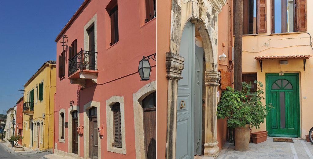 Ne manquez pas de parcourir les villages typiques de Crète