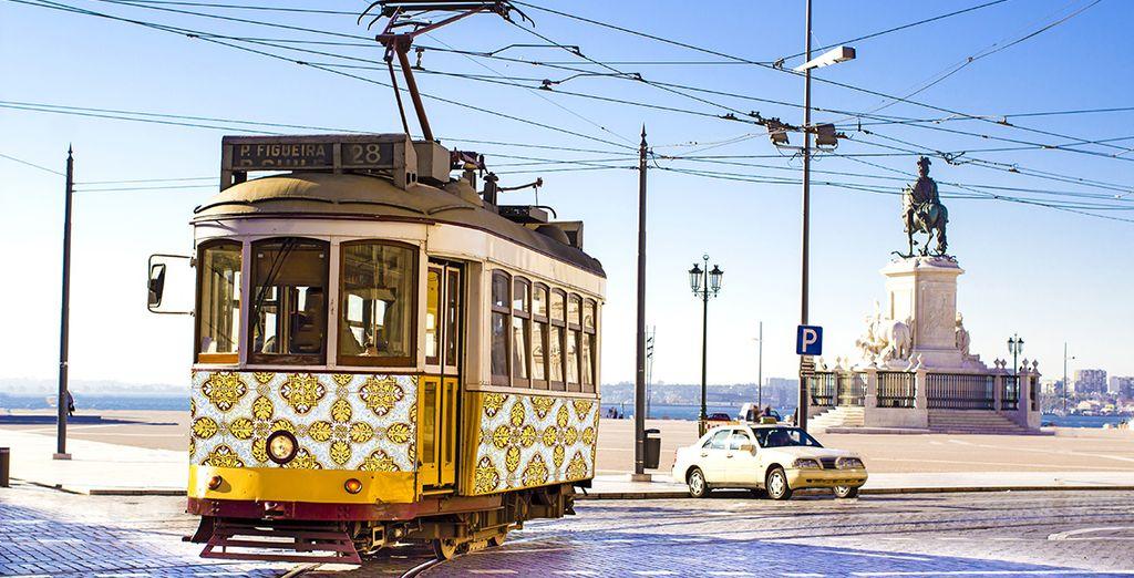 tout comme la richesse architecturale et culturelle de Lisbonne