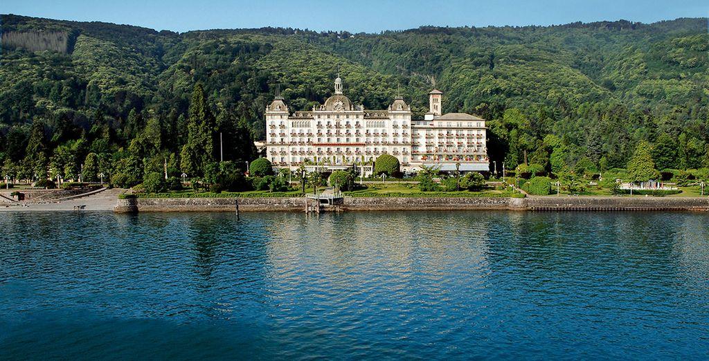 Direction l'Italie, sur les rives du Lac Majeur