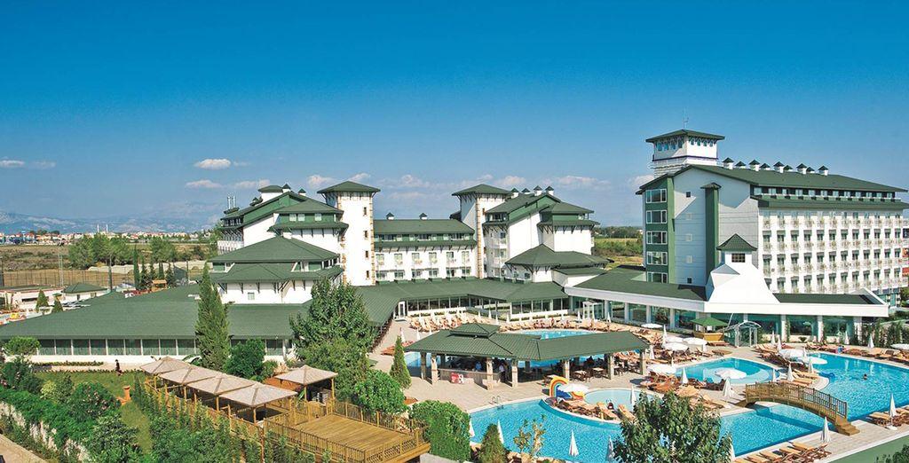 Votre prochain lieu de vacances se nomme Hôtel Vera Verde !