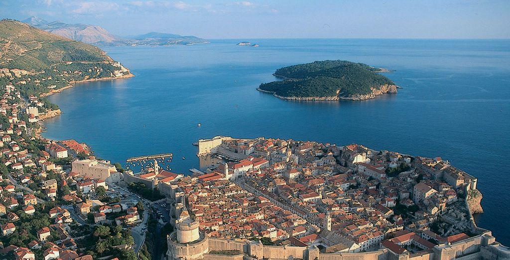 Située à 30 minutes en bateau de Dubrovnik...