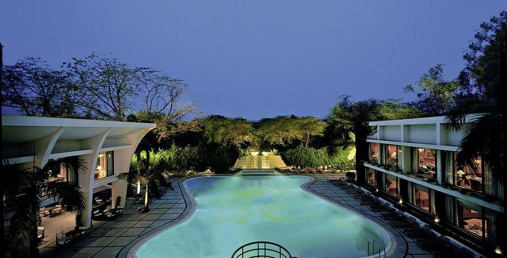 Vous commencez votre séjour au Oberoi Delhi 5*