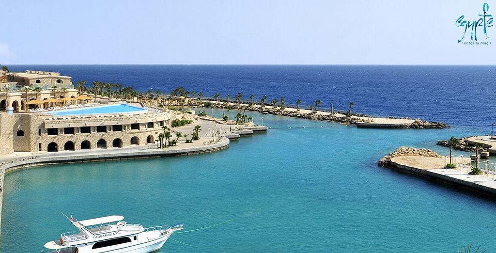 Cap sur l'Égypte et la région d'Hurghada pour un séjour 5* - Hôtel Citadel Azur 5* ou Combiné Croisière Passion du Nil & Hôtel Citadel Azur 5* Hurghada