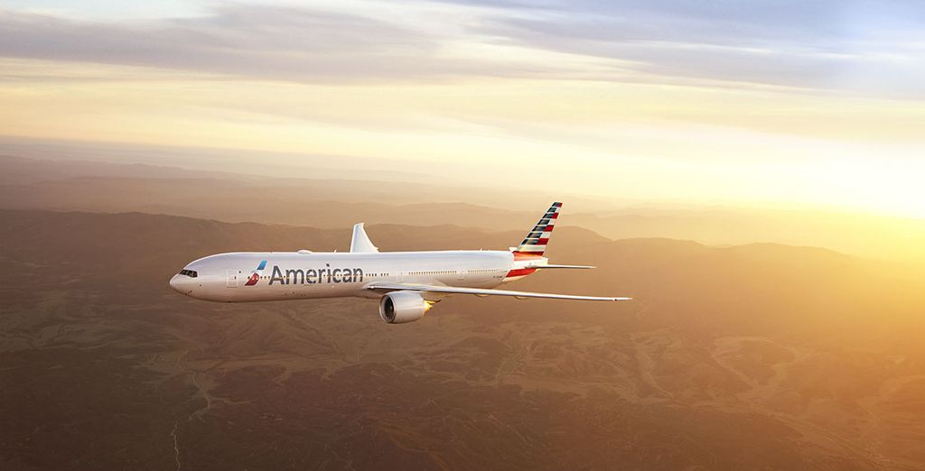 Rejoignez votre destination avec la compagnie American Airlines