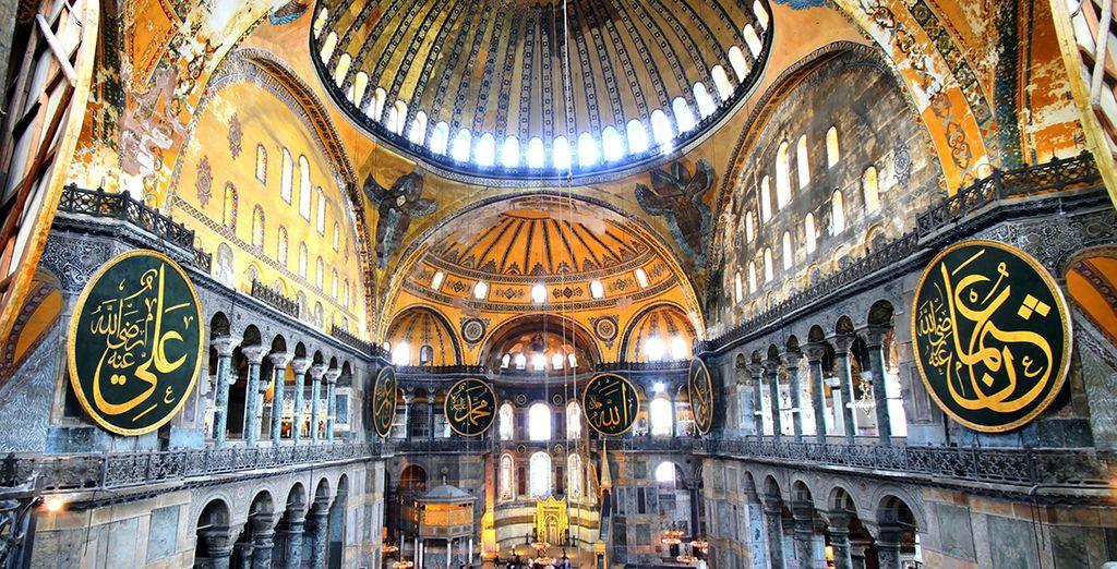 La basilique Sainte-Sophie...