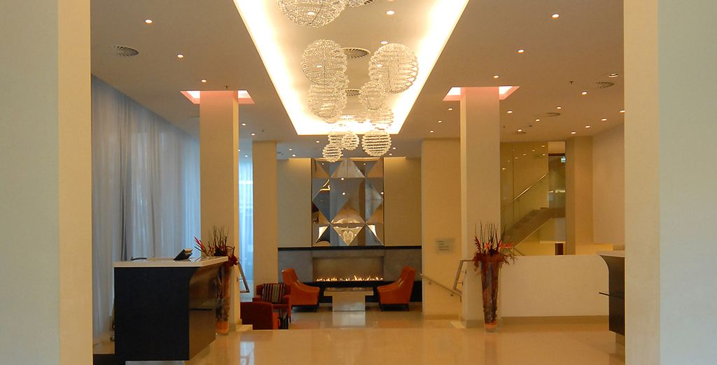 Installez-vous dans un agréable hôtel 5*